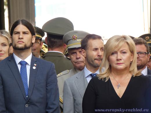 Alena Schillerová s Vojtěchem Pikalem