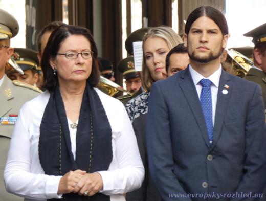 Miroslava Němcová s Vojtěchem Pikalem