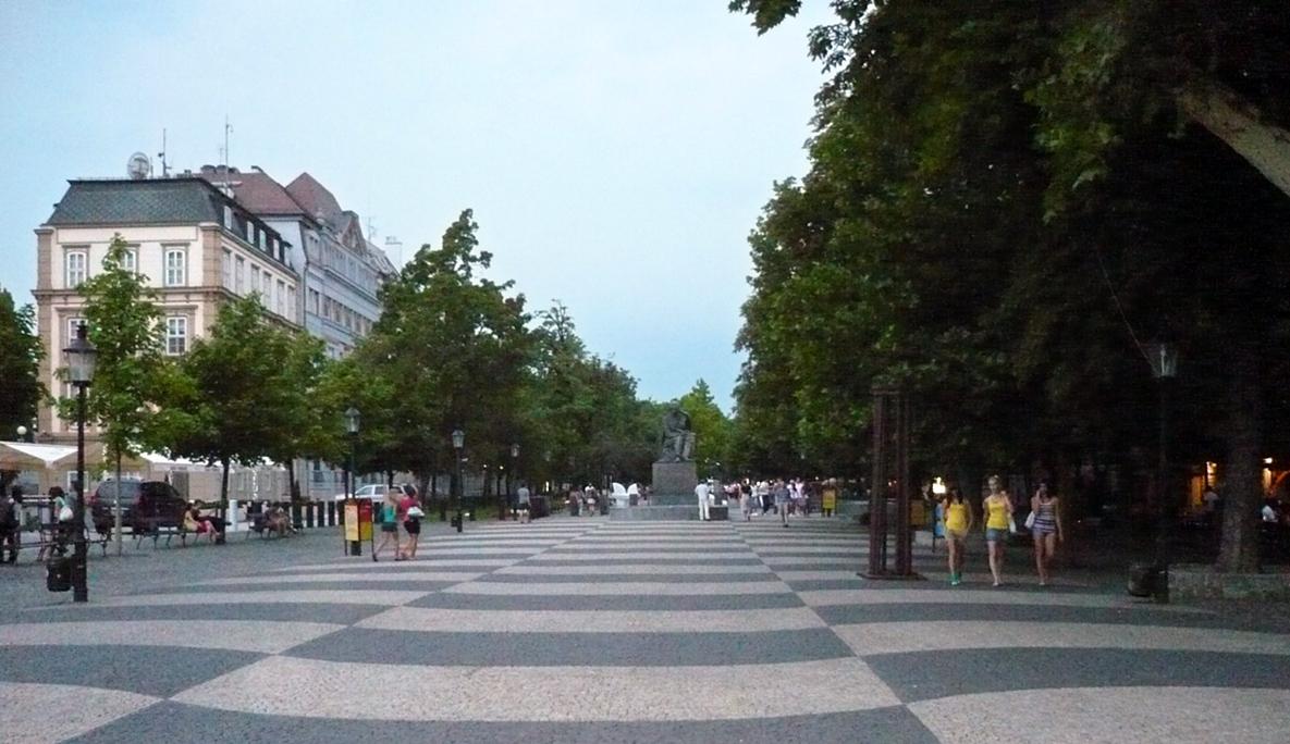Hviezdoslavovo námestie - ilustrační fotografie