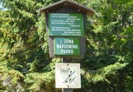 Národní park Šumava © foto Ingrid Romancová
